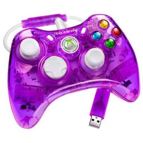 Xbox 360 Rock Candy Purple Controller Vezetékes