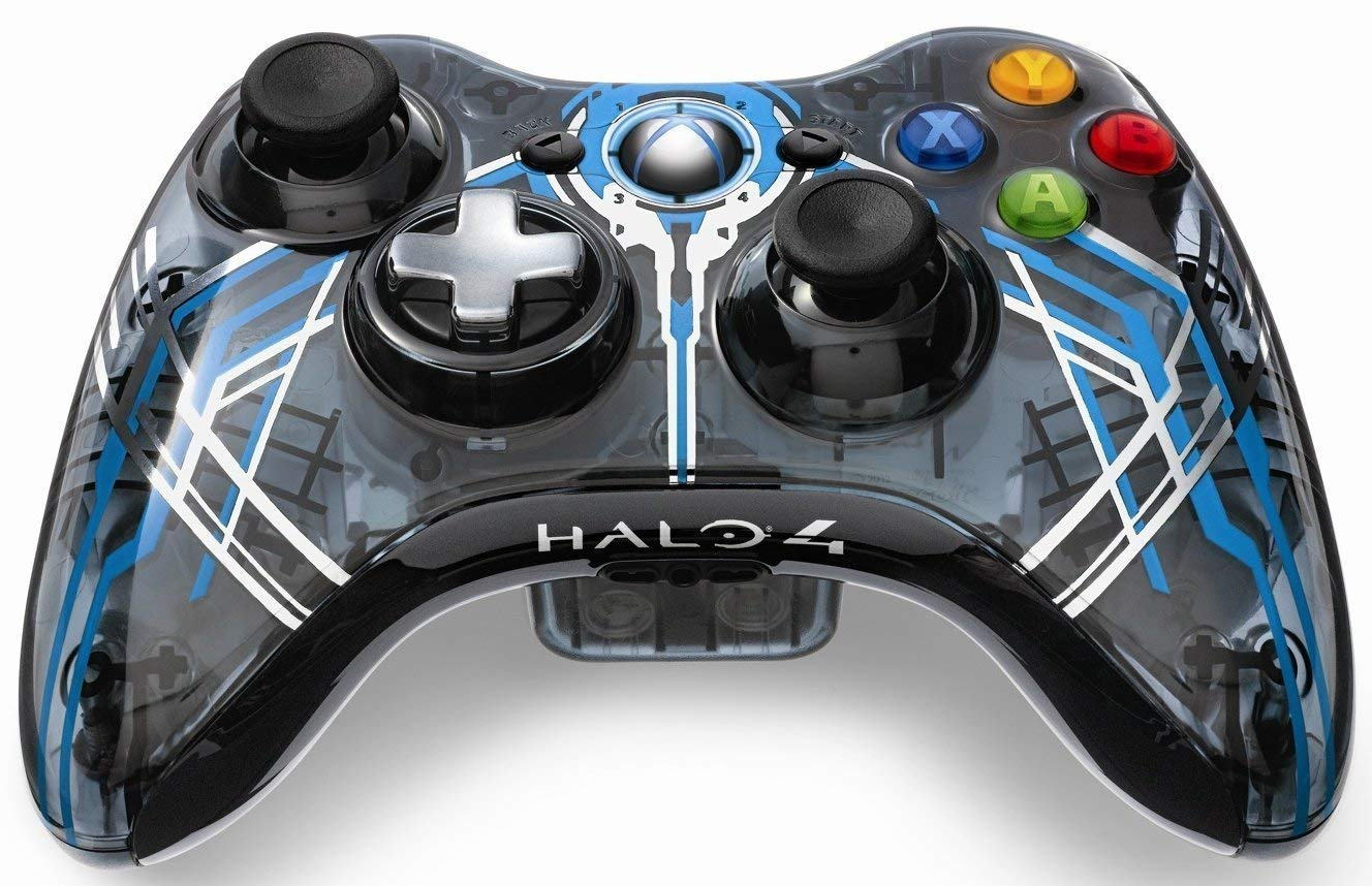 Xbox 360 Wireless Controller Halo 4 Forerunner Limited Edition