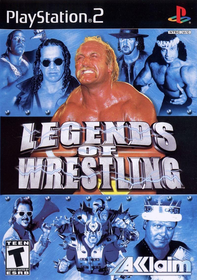 Legends Of Wrestling - PlayStation 2 Játékok