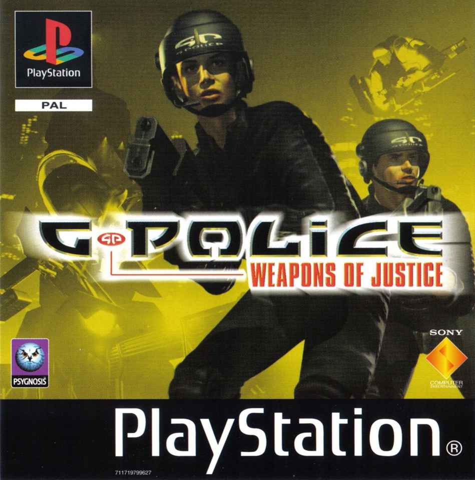 G Police Weapon Of Justice