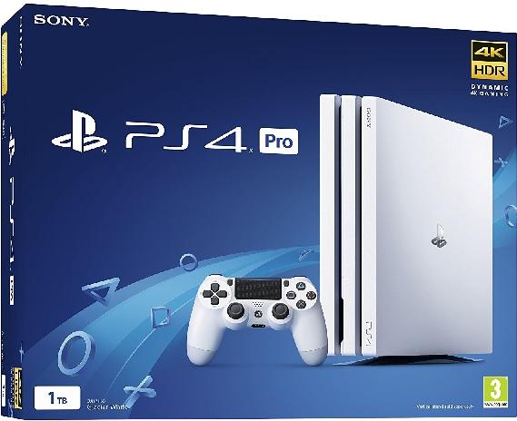 Sony PlayStation 4 Pro 1TB Glacier White