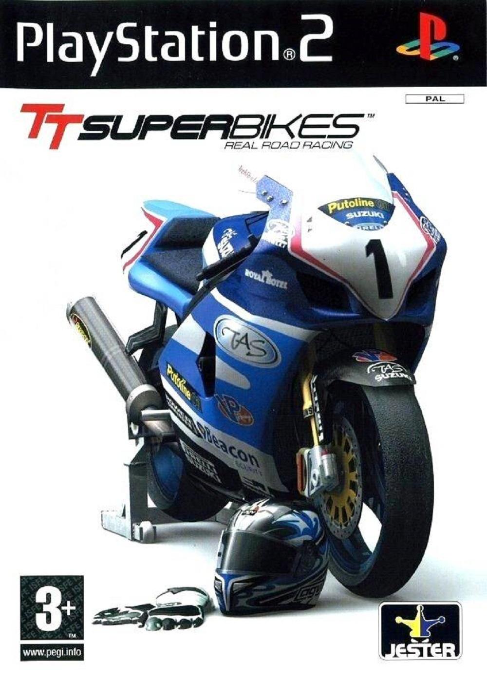 TT Superbikes Real Road Racing - PlayStation 2 Játékok