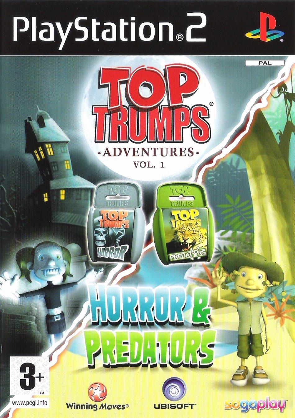 Top Trumps Adventures 1 Horror & Predators