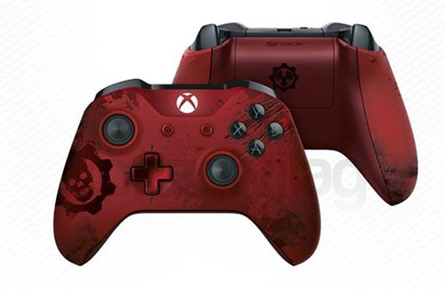Xbox One Wireless (Vezeték nélküli) Controller Gears of War 4 Crimson Omen Limited Edition