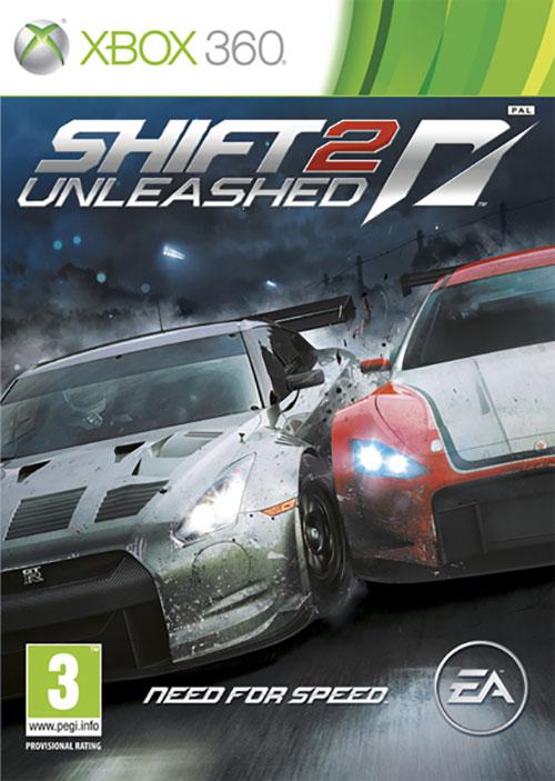 Need for Speed Shift 2 Unleashed - Xbox 360 Játékok