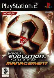 Pro Evolution Soccer Managment - PlayStation 2 Játékok