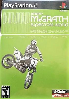 Jeremy McGrath Supercross World - PlayStation 2 Játékok