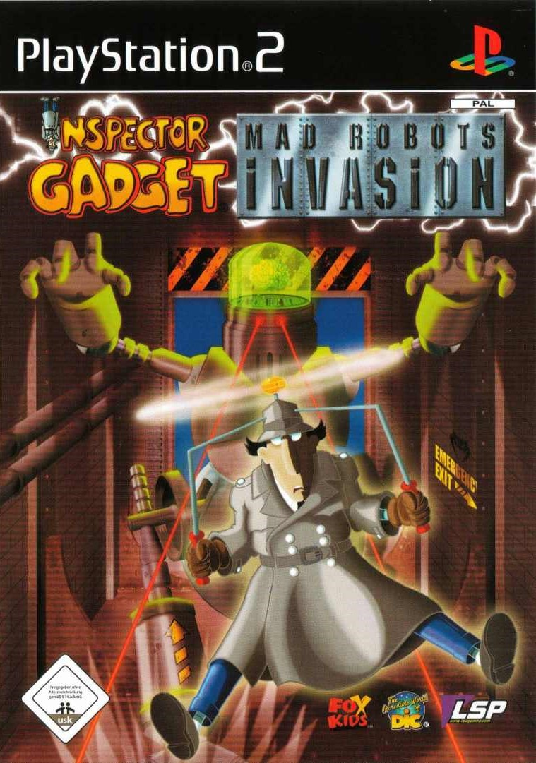 Inspector Gadget Mad Robots Invasion