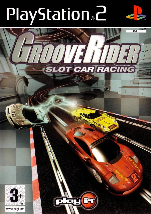 Groove Rider Slot Car Racing - PlayStation 2 Játékok