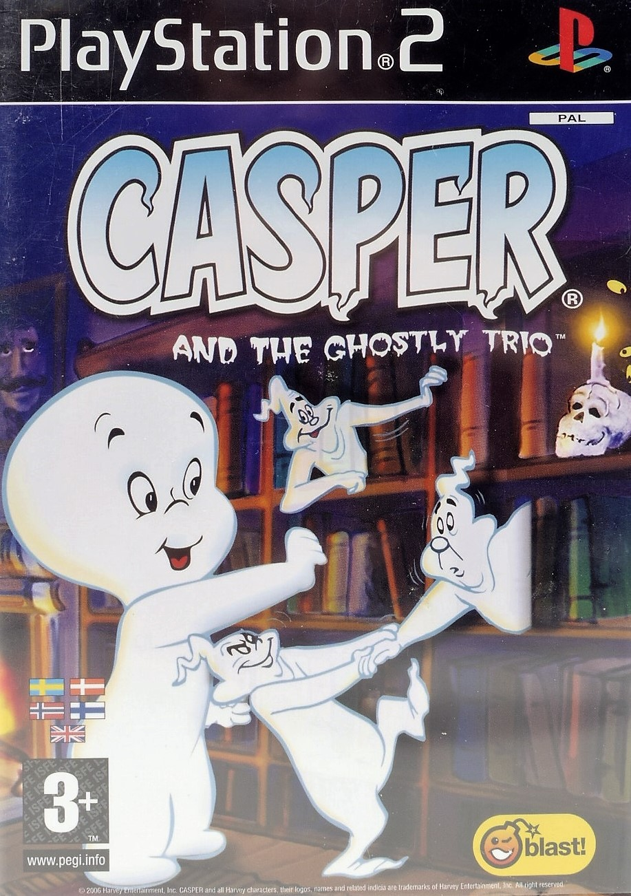 Casper And The Ghostly Trio - PlayStation 2 Játékok
