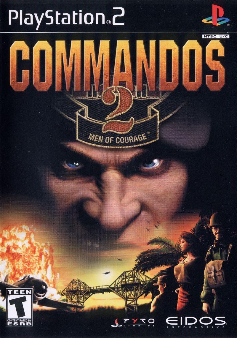 Commandos 2 Men Of Courage - PlayStation 2 Játékok