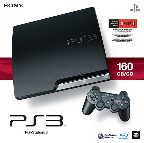 Sony Playstation 3 Slim 160 GB