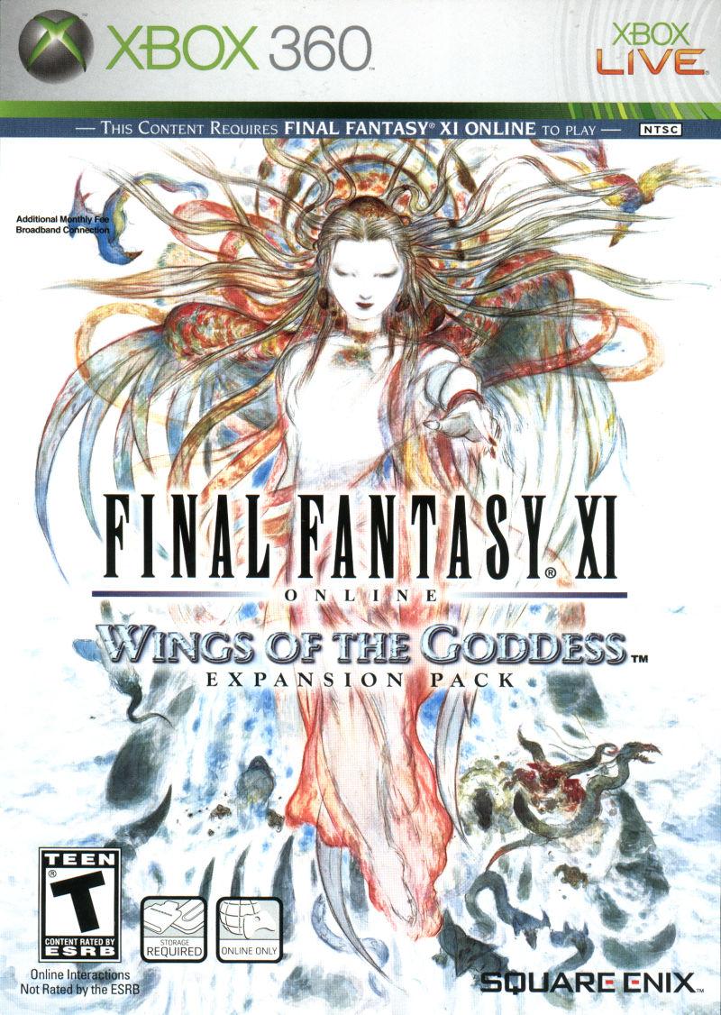 Final Fantasy XI Wings Of The Goddess