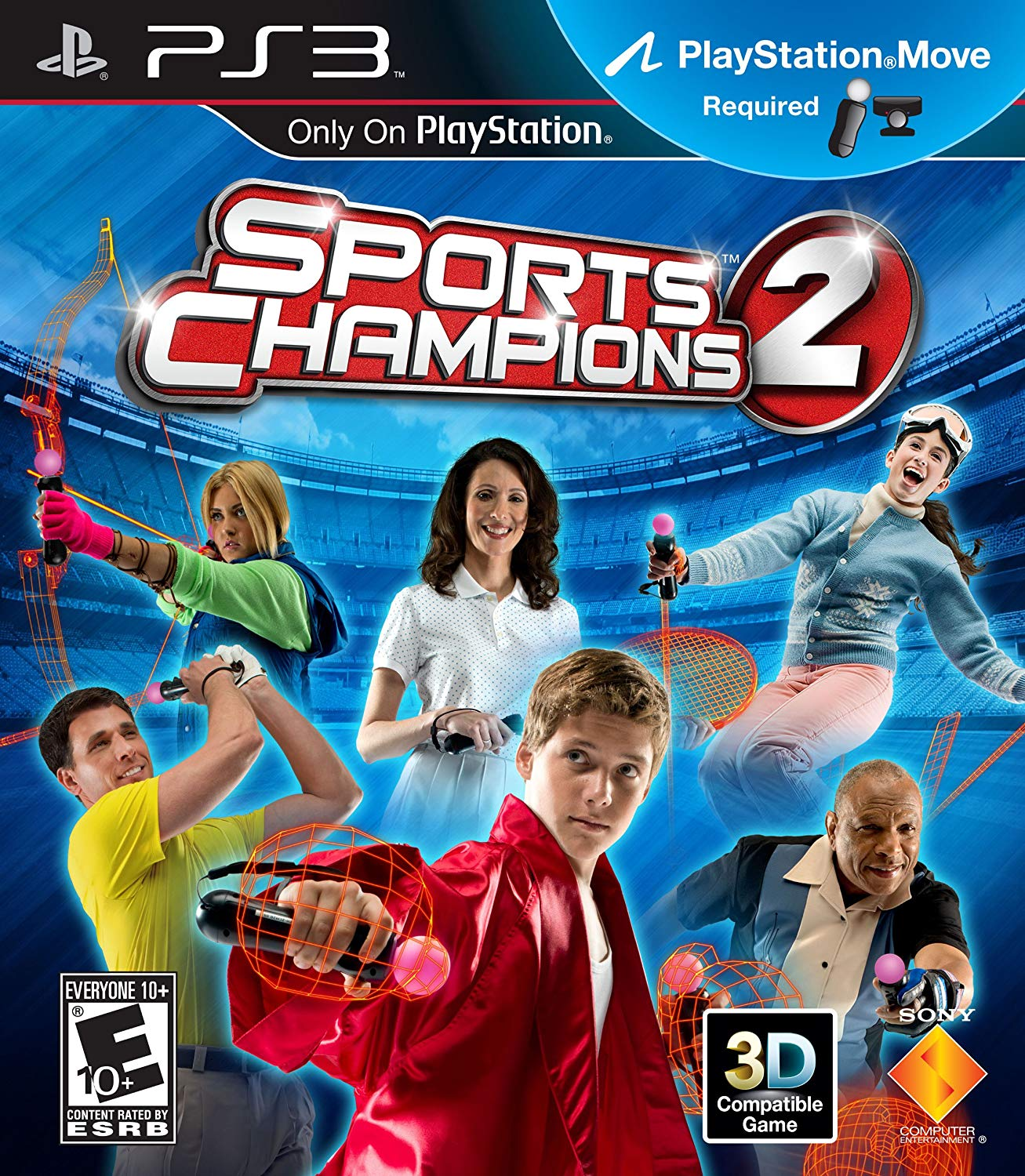 Sports Champions 2 - PlayStation 3 Játékok