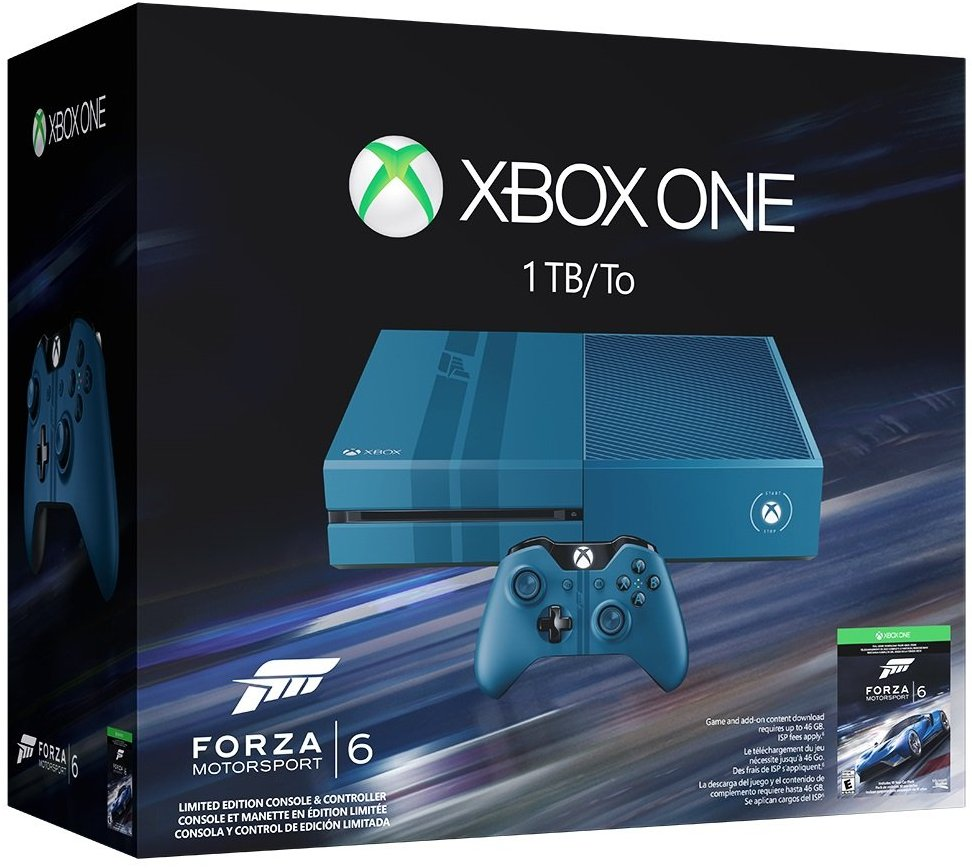 Xbox One 1TB Forza Motorsport 6 Limited Bundle