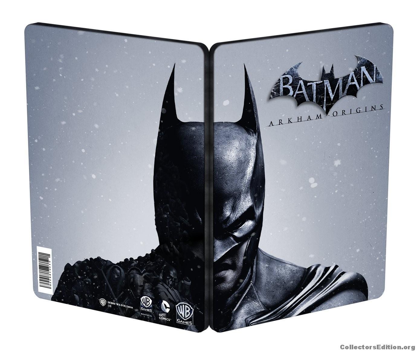Batman Arkham Origins The Complete Edition Steelbook - PlayStation 3 Játékok