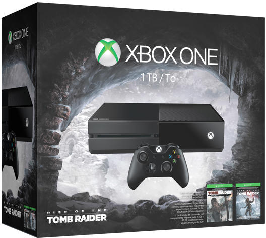 Xbox One 1TB Tomb Raider Definitive Edition Bundle