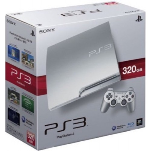 PlayStation 3 Slim 320 GB Silver