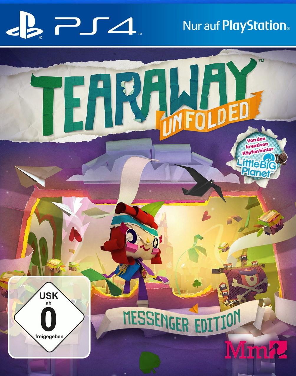 Tearaway Unfolded Messenger Edition - PlayStation 4 Játékok