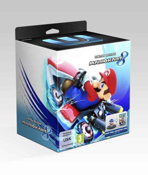 Wii U Limited Edition Mariokart 8