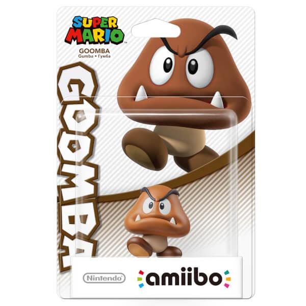 Goomba Amiibo Super Mario