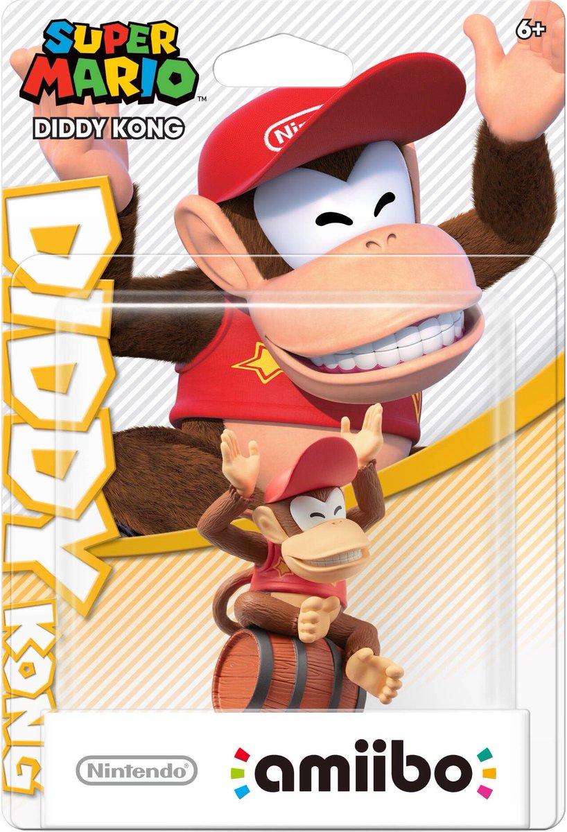 Diddy Kong Amiibo Super Mario