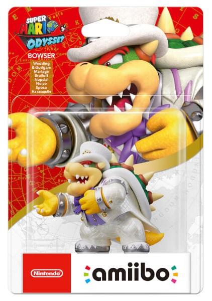 Bowser Super Mario Odyssey Amiibo