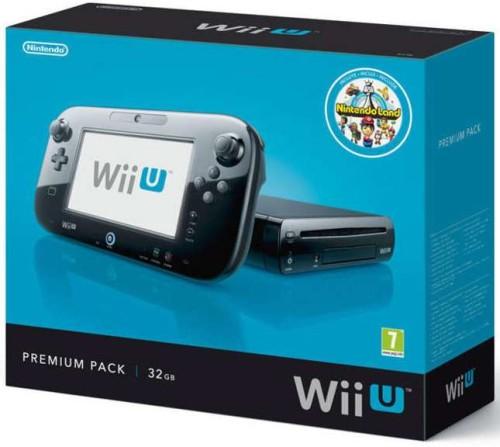 Nintendo Wii U 32GB Premium Pack (Fekete)