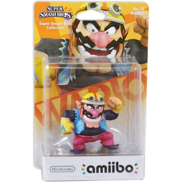 wario super smash bros Amiibo
