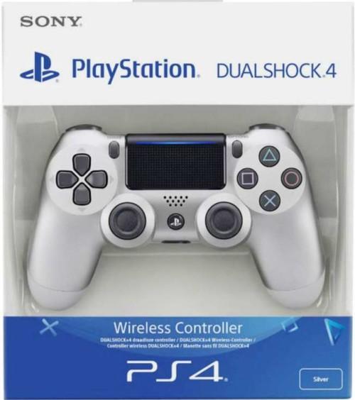 Sony PlayStation DualShock 4 V2 kontroller (Ezüst)
