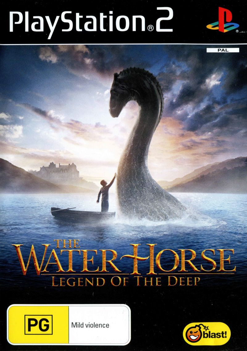 The Water Horse Legend of the Deep - PlayStation 2 Játékok