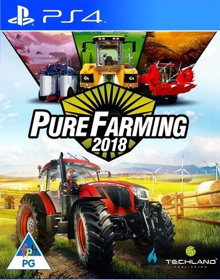 Pure Farming 2018 (Magyar Felirattal) - PlayStation 4 Játékok