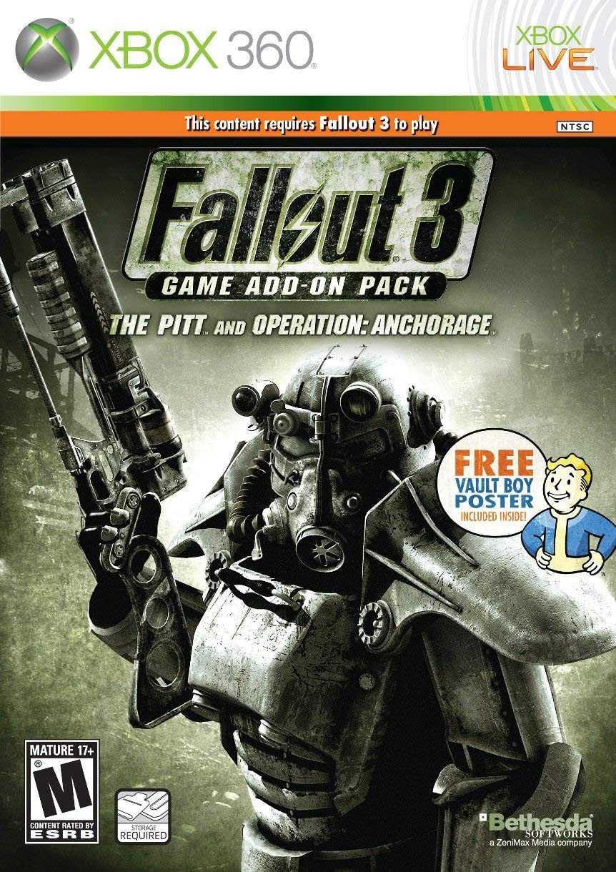 Fallout 3 Broken Steel and Point Lookout Add On Pack - Xbox 360 Játékok