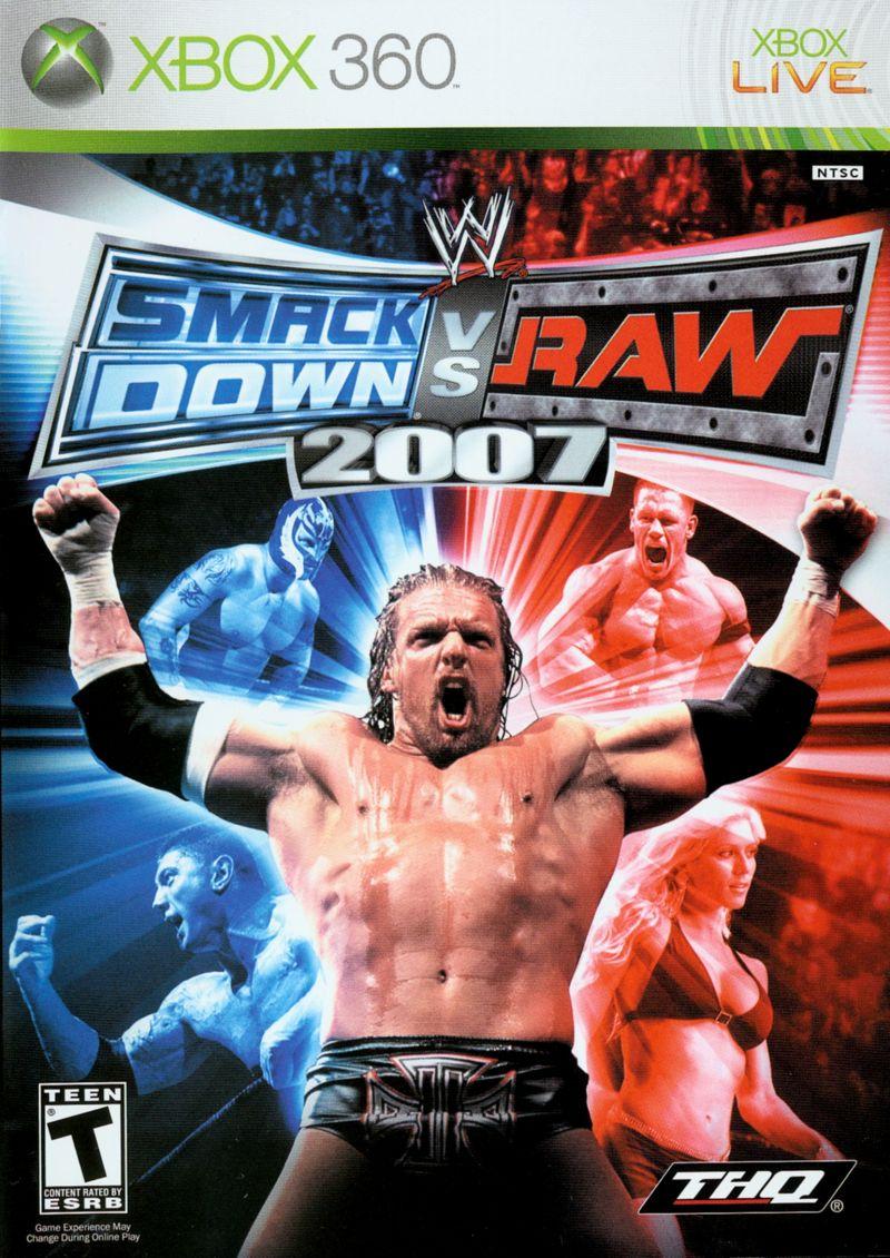 Smackdown Vs Raw 2007 - Xbox 360 Játékok