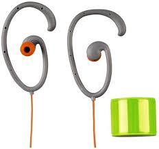 Thomson Clip-On Sport Earphones Flex/Narancssárga szín/ (Sport Fülhalgató)