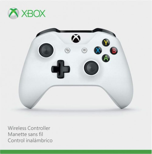 Microsoft Xbox One Wireless Controller (fehér) 3,5 mm jack