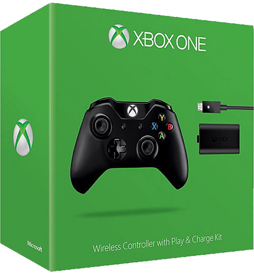 Microsoft Xbox One Controller Plusz Play And Charge Kit