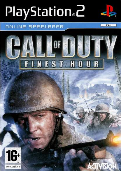 Call Of Duty Finest Hour - PlayStation 2 Játékok