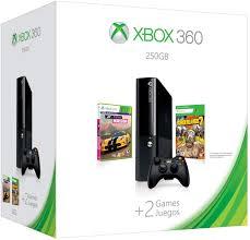 Microsoft Xbox 360 Slim 250 GB + Forza Horizon + Borderlands 2
