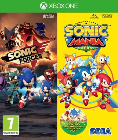 Sonic Forces Sonic mania Plus Double pack