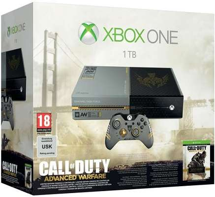 Microsoft Xbox One 1TB Limited Call of Duty Advanced Warfare Edition