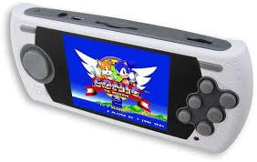 Sega mega drive ultimate portable game player 85 game (Kézi gép)