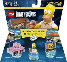 Lego Dimension Homer