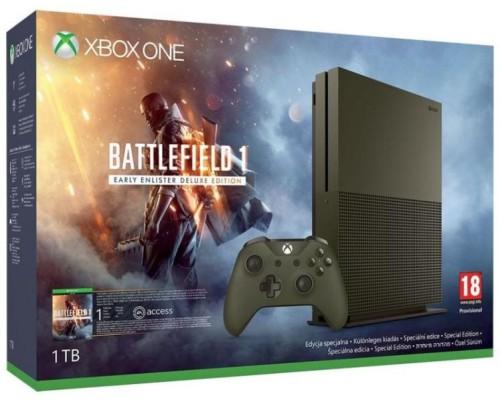 Microsoft Xbox One S 1TB Limited Battlefield Edition