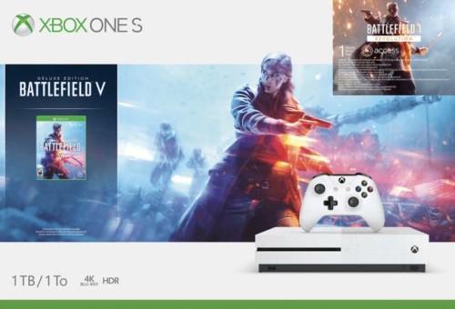 Microsoft Xbox One S 1 TB + Battlefield V Deluxe Edition