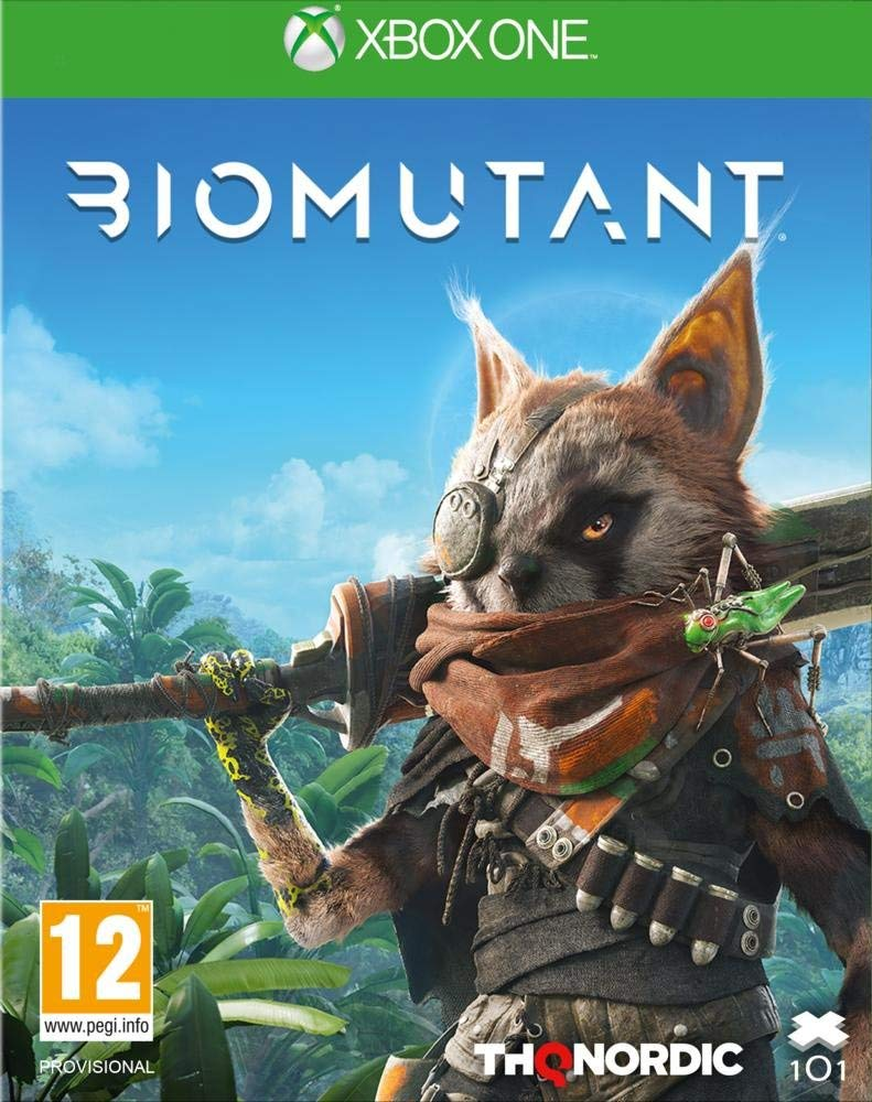 Biomutant (Series X kompatibilis)
