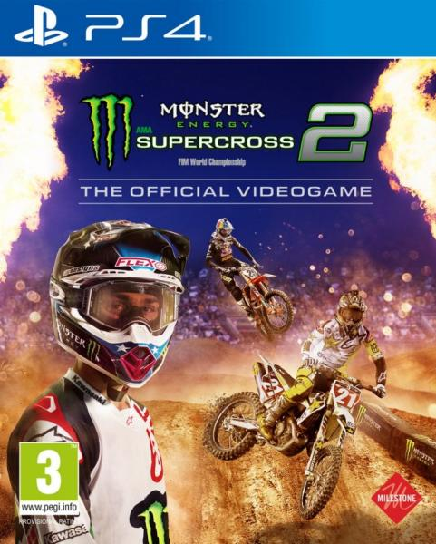 Monster Energy Supercross 2 - The Official Videogame