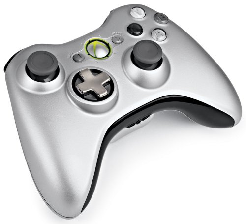 Microsoft Xbox 360 Wireless Controller (Ezüst)