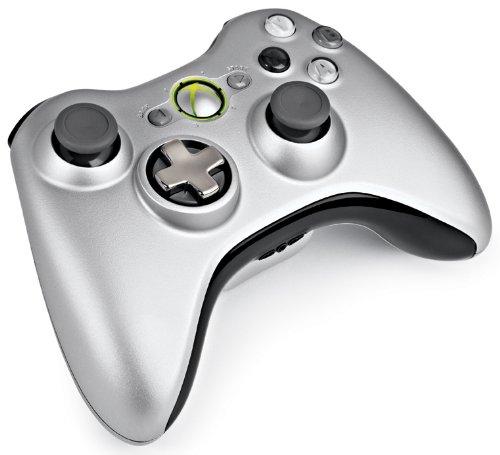 Microsoft Xbox 360 Wireless Controller (Ezüst) - Xbox 360 Kiegészítők