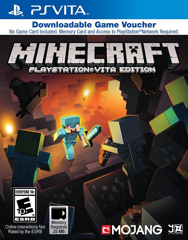 Minecraft Playstation Vita Edition